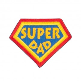Super Dad Family Patches