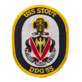 USS Solid Border Patches