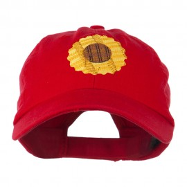 Sunflower Embroidered Cap