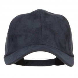 Structured Faux Suede Cap