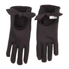 Women's Bow Accent Texting Glove