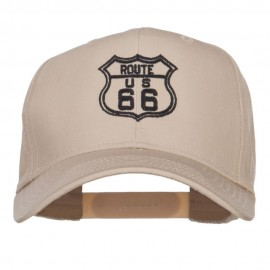 US Route 66 Embroidered Cap