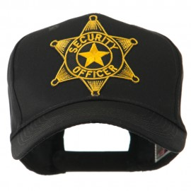 USA Security and Rescue Embroidered Patch Cap - Security Officer 3