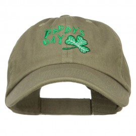 St. Paddy's Day Embroidered Low Cap