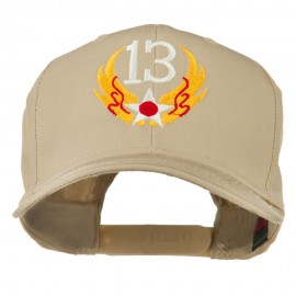 13th Air Force Badge Embroidered Cap