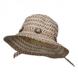 Women's Toyo Braid Buckle Bucket Hat