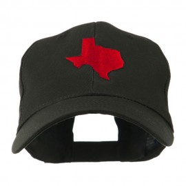 Texas State Outline Embroidered Cap