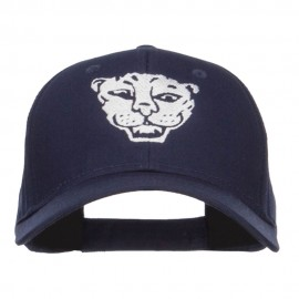 Tiger Emblem Embroidered Low Twill Cap