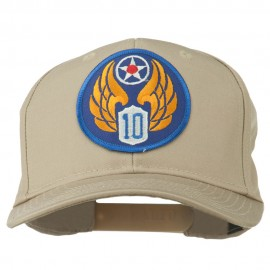 10th Air Force Division Patched Cotton Cap