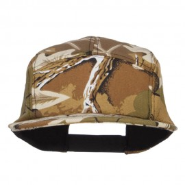 Men's 5 Panel Camo Cotton Cap - Camo