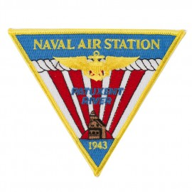 Triangular Navy Airfield Patches - NAS River