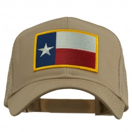 Texas State Flag Patched Mesh Cap