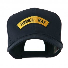 Vietnam War Tunnel Rat Badge Embroidered Cap