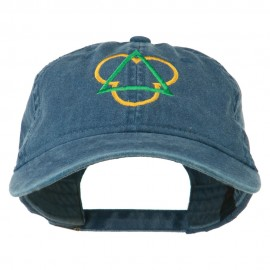 Symbol for Trinity Embroidered Washed Cap