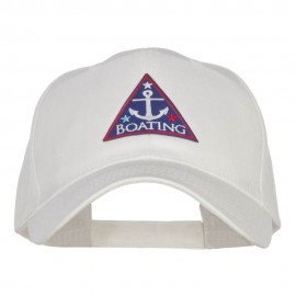 Boating Anchor Patched Low Cotton Cap