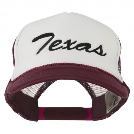 Mid States Texas Embroidered Foam Mesh Back Cap