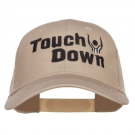 Football Touch Down Embroidered Trucker Cap