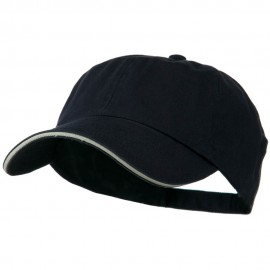 Low Profile Cotton Twill Cap - Navy Putty