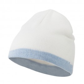 Two Tone Short Beanie