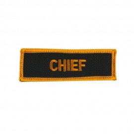 Text Law and Forces Embroidered Military Patch - Chief