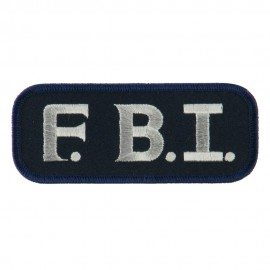 Text Law and Forces Embroidered Military Patch - FBI