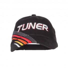 Tuner Embroidered Deluxe Cotton Cap