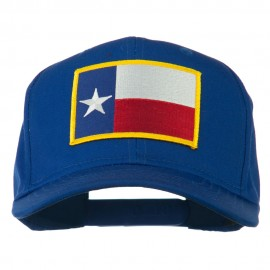 Texas State High Profile Patch Cap - Royal