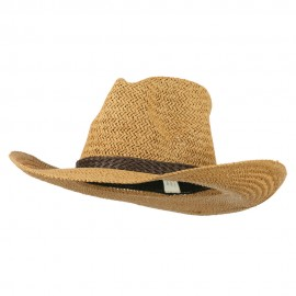Women's Straw Braid Cowboy Hat