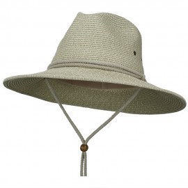 Men's UPF 50+ Chin Cord Safari Hat