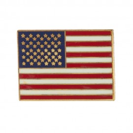 USA Flag Cloisonne Military Pins
