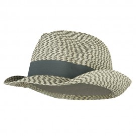 Men's UPF 50+ Paper Braid Fedora