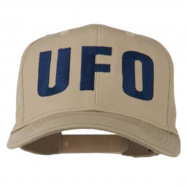 UFO Embroidered Solid Cotton Twill Cap