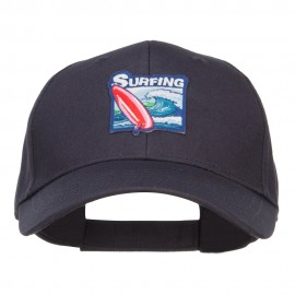 Surfing Patched Low Cotton Cap