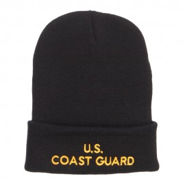 US Coast Guard Embroidered Long Beanie