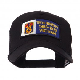 US Army Infantry Rectangle Military Patched Mesh Cap