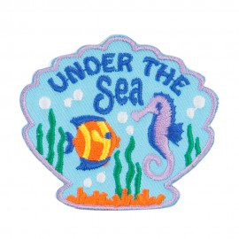 Under The Sea Embroidered Patches
