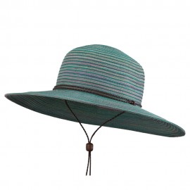 UPF 40+ Poly Braid Sun Hat - Green