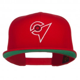 Unova League Poke Monster Embroidered Snapback Cap