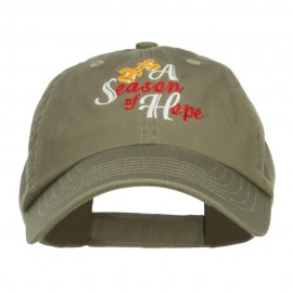 Season of Hope Embroidered Pet Spun Cap