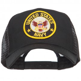 US Navy Military Patched Mesh Cap