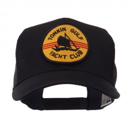 US Navy Military Patched Mesh Cap - Gulf