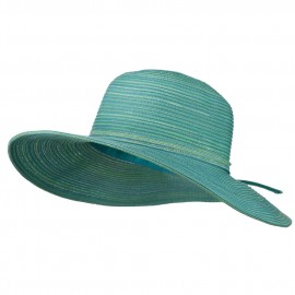 UPF 40+ Poly Braid 4 Inch Flat Brim Hat