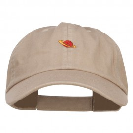 Mini Saturn Embroidered Low Cap