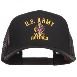 US Army Wife Retired Military Embroidered