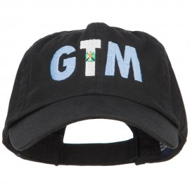 Guatemala GTM Flag Embroidered Low Profile Cap