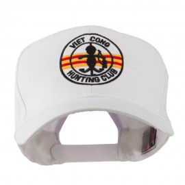 Viet Cong Hunting Club Outline Embroidered Cap