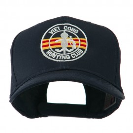 Viet Cong Hunting Club Outline Embroidered Cap - Navy