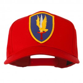 1st Aviation Army Shield Patched Cap