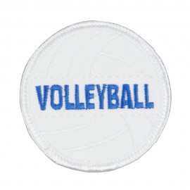 Volleyball Embroidered Patch