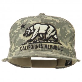 Vintage Embroidered California Bear Cap
